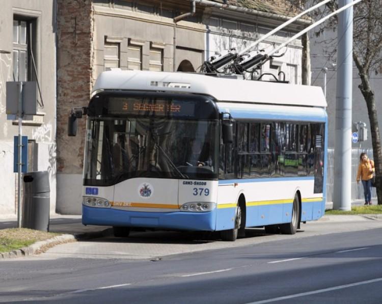 Figyelem: itt szállhat majd trolira Debrecen belvárosában