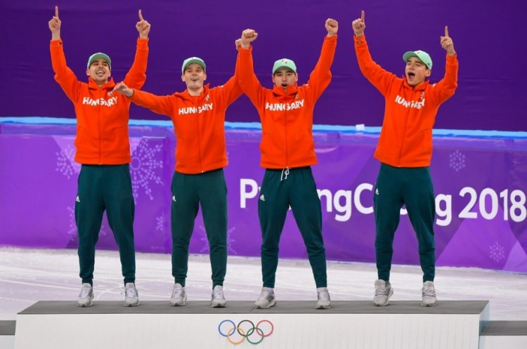 Usain Bolt küldheti a pezsgőt a magyar olimpiai bajnokoknak
