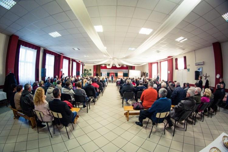Volt egy kis balhé a nyíracsádi Fidesz-nagygyűlés előtt