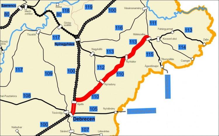 Húsz éve gyorsabb volt a vonat a Debrecen–Mátészalka vonalon