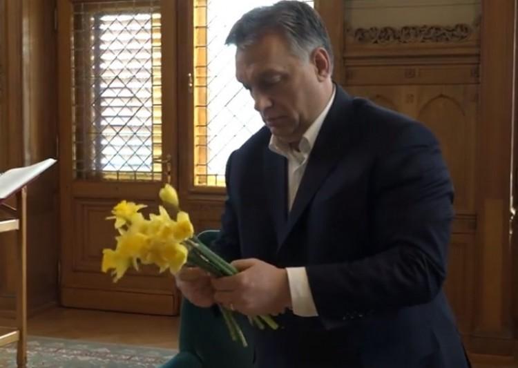 A dolgozó anyákat éltette Orbán Viktor