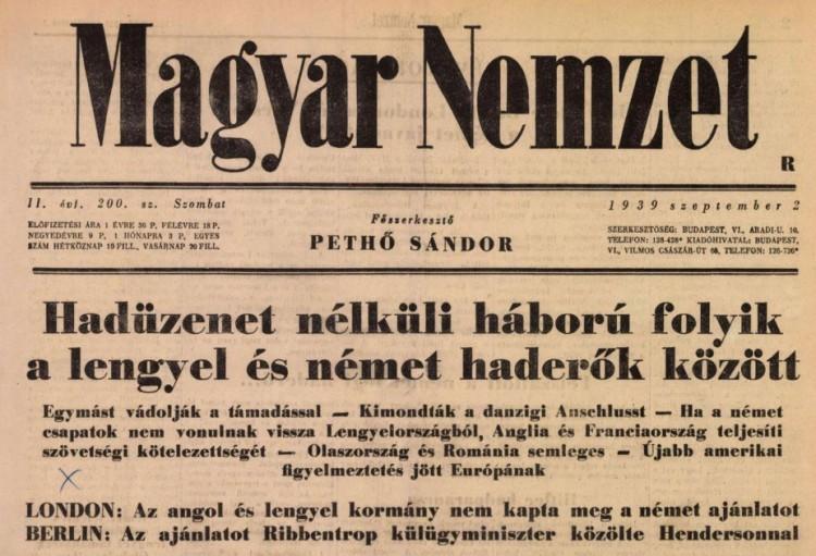 Magyar Nemzet: fejlemény van!