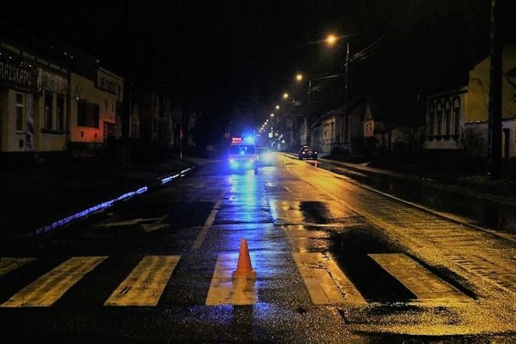Zebrán csapták el a gyalogost a  Nyíl utcán