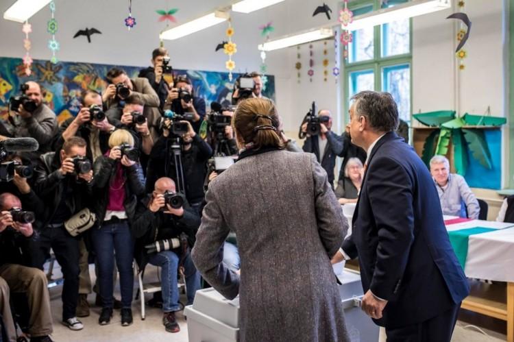 Orbán Viktor már szavazott. És Ön?