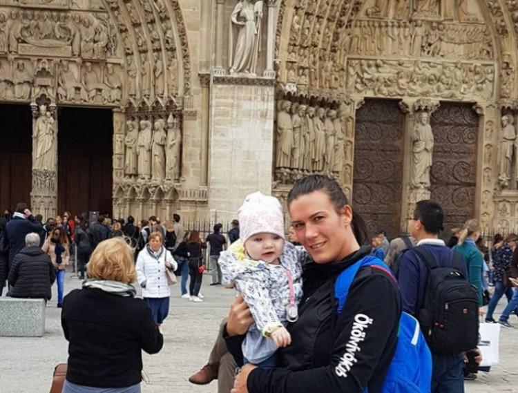 A kislányával ment bokszolni Párizsba a debreceni amazon