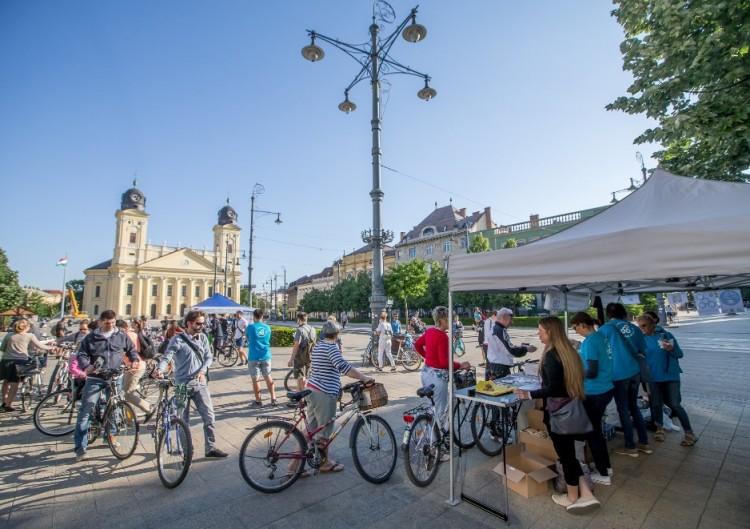 Megvendégelték Debrecen legzöldebb polgárait