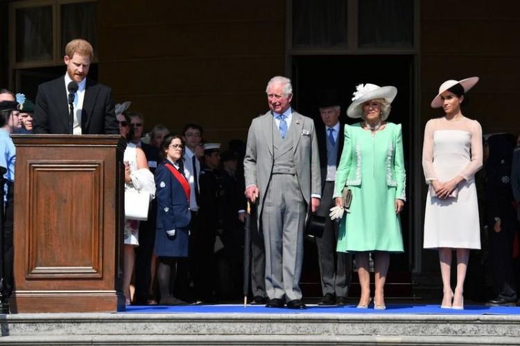 Harry herceg és Meghan Markle először mutatkoztak az esküvő óta