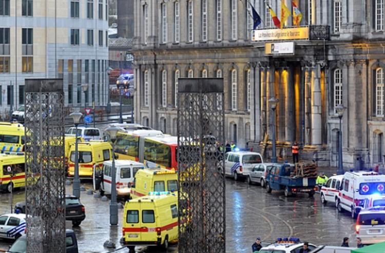 Fegyveres támadás Belgiumban