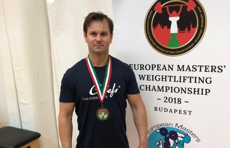 Kecskés Zoltán Európa-bajnok!