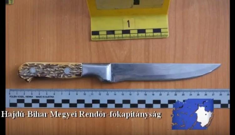 Késsel fenyegetve rabolt Komádiban