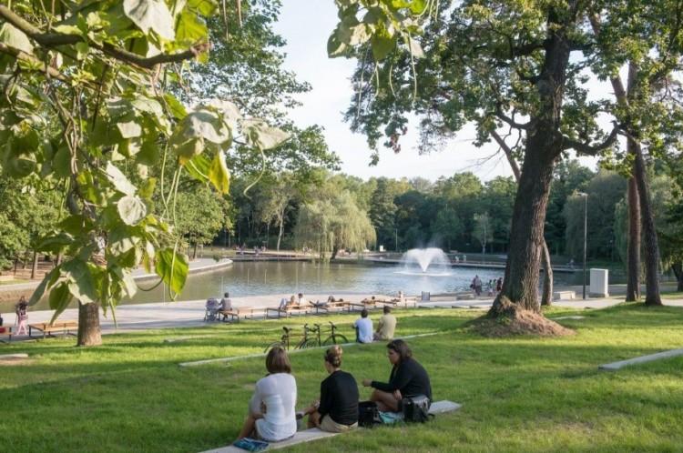Hyde Parkká változik a Békás-tó környéke