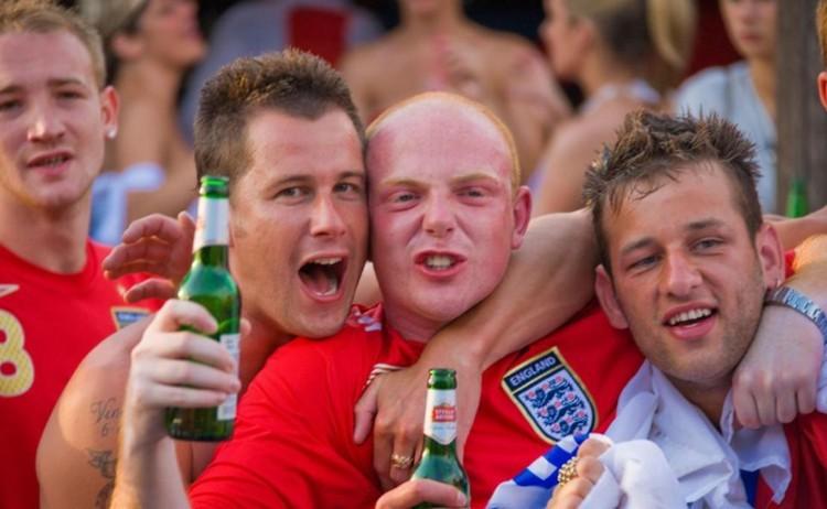 Ha az angolok már most így ünepelnek, mi lesz, ha megnyerik a vb-t?
