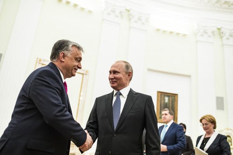 Ezekről tárgyalt Putyin és Orbán