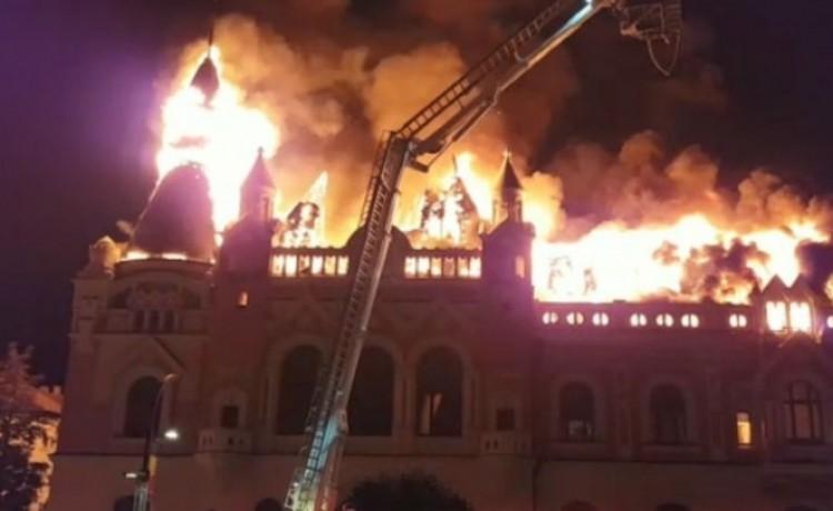 A lángok martaléka lett Debrecen testvérvárosának egyik ékessége