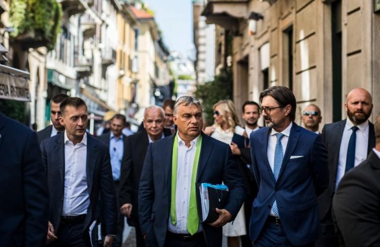 Orbán megtalálta az emberét Itáliában