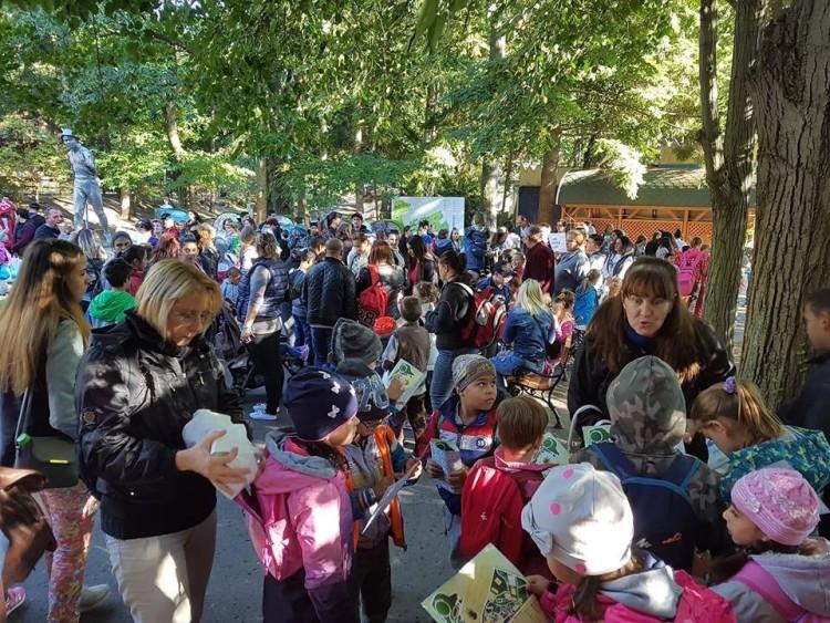 Hátrányos helyzetű gyerekek látogattak Debrecenbe