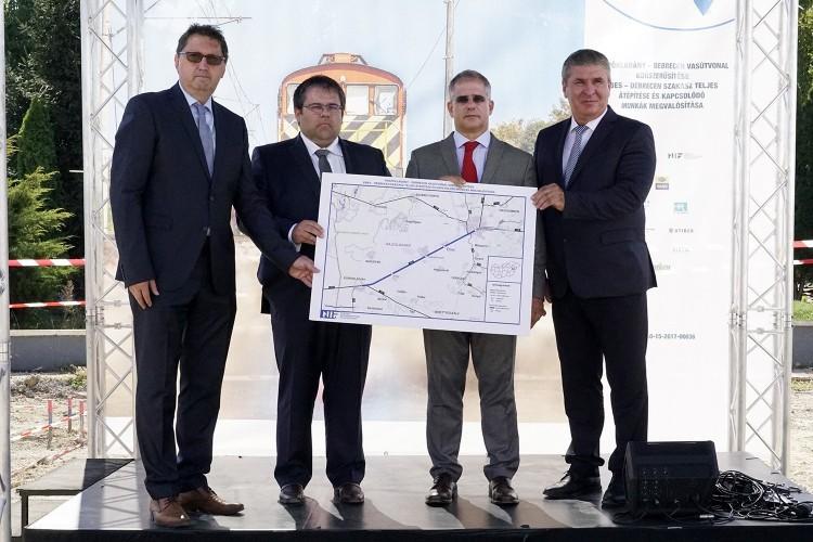 Milliárdos szakaszfelújítás kezdődik Debrecennél