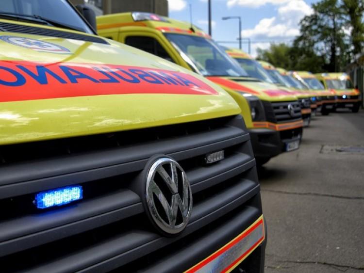 Egy ember megsérült a balmazújvárosi balesetben
