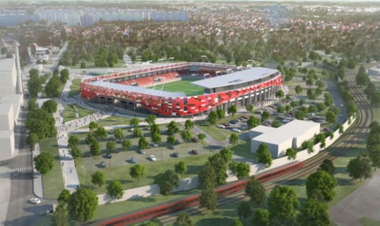 Még egy stadionépítés kezdődik!