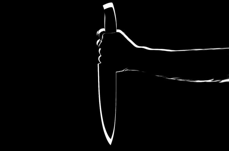 Késsel fenyegetőzött a feleséggyilkos