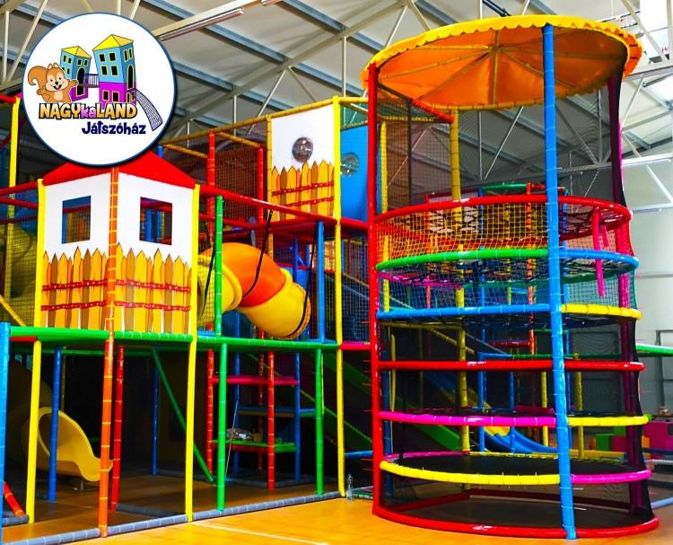 NAGYkaLAND: kinyit az 1500 négyzetméteres debreceni játszóház