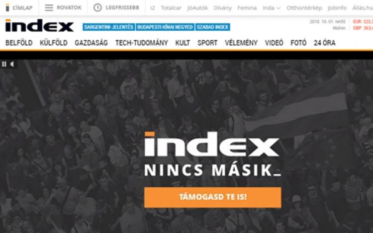Új útra lép az Index, beintett a NER-nek