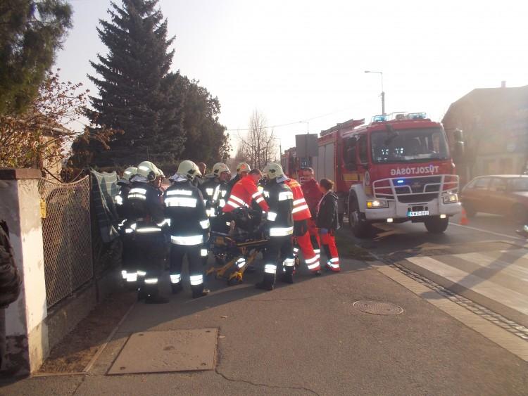 A debreceni püspöki palotába riasztották a tűzoltókat