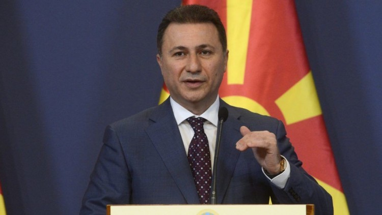 A Belügyminisztérium nem tűr ellentmondást Gruevszki-ügyben