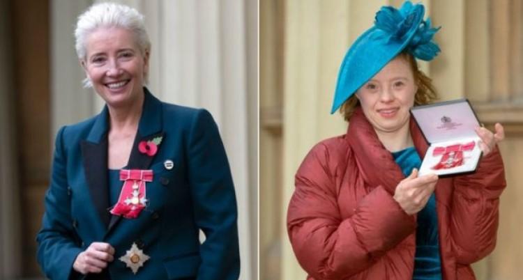 Először tüntettek ki Down-kóros színésznőt a Buckingham-palotában