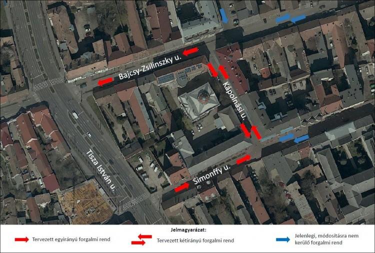 Átvariálják a közlekedést Debrecen egy forgalmas pontján