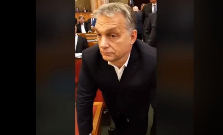 """Videó: Orbán Viktor """"megnémult"""""""