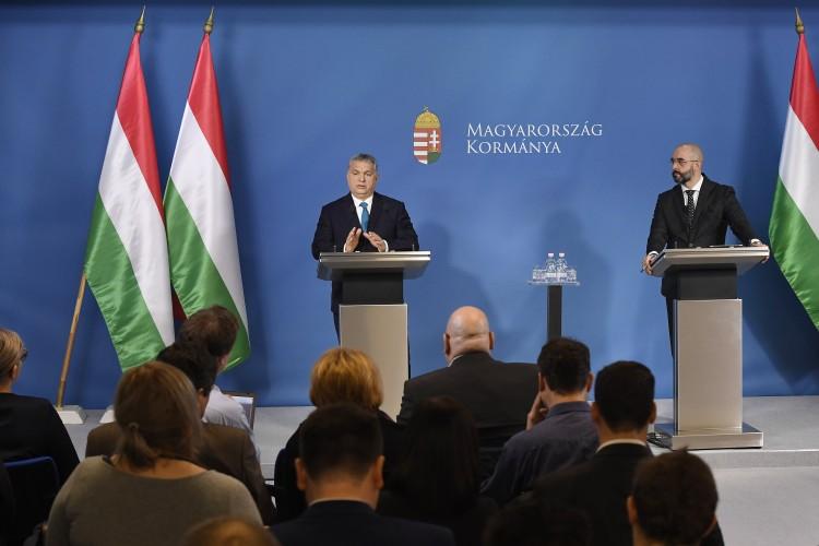Orbán Viktor a magyar GDP-növekedéssel kezdte a kormányinfót – frissítve