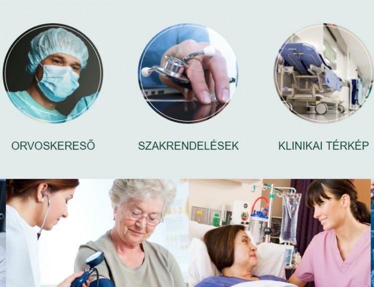 Kedves betegek! Megújult a Klinikai Központ honlapja