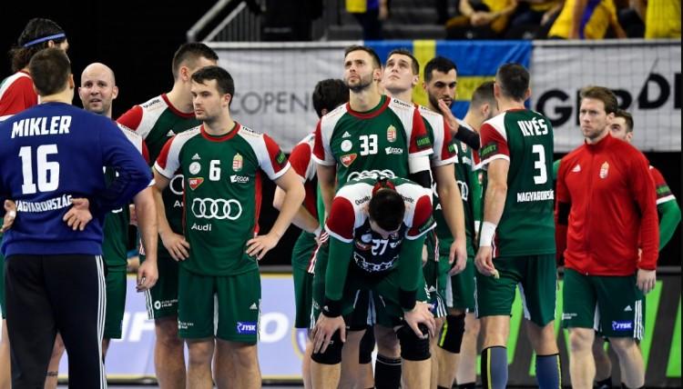 Csalódást okoztak a magyarok a kézilabda-világbajnokságon