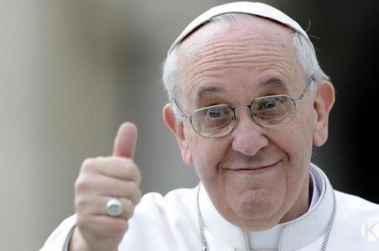 Olyat mondott a pápa, hogy belepirul a Vatikán