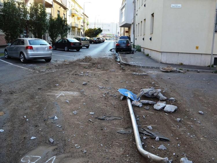 Lezárták a falnak rohanó debreceni sofőr elleni nyomozást