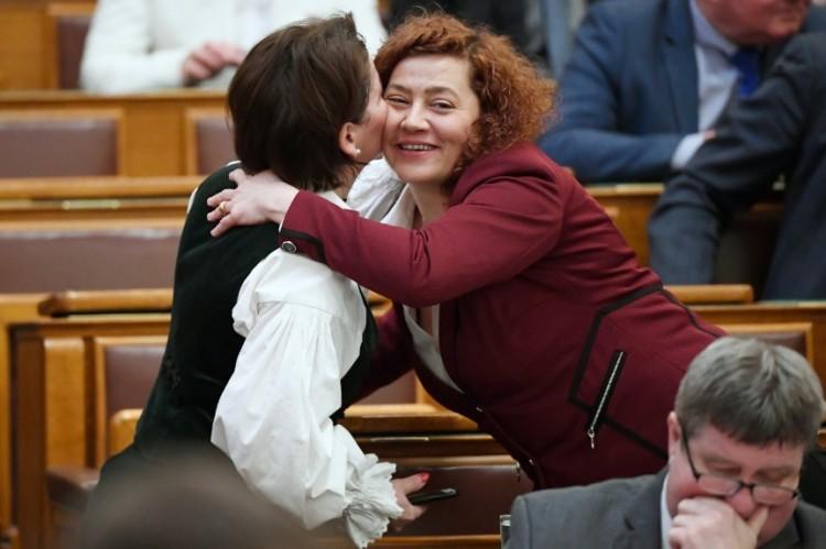 A jobbikos és a DK-s összeborulása a parlamentben