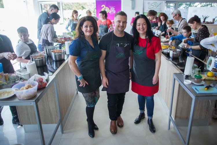 Digitalizált közösségi főzés Debrecenben