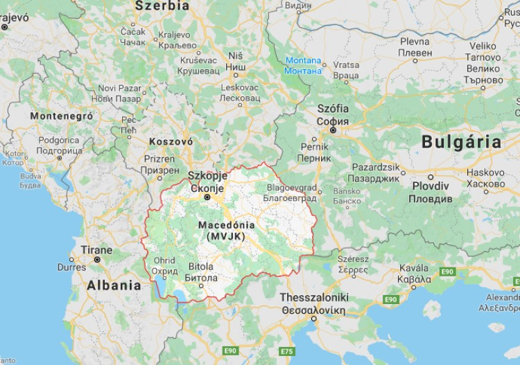 Mostantól ne keresse Macedóniát a térképen