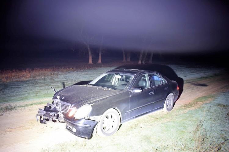 Villanyoszlop állította meg a nyíradonyi autótolvajt