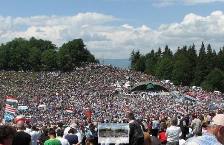 Pápalátogatás: kétezer ingyen szállást ad egy erdélyi város