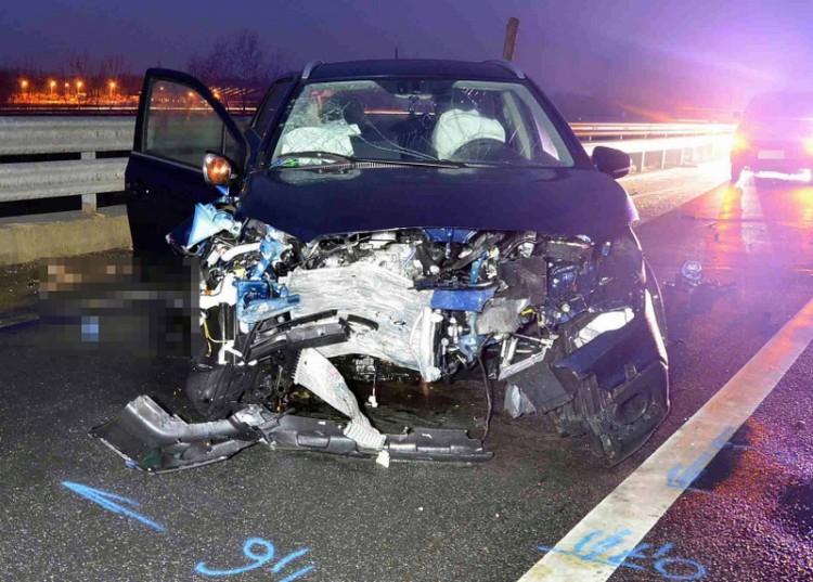 Halál az M5-ösön: 85 éves suzukis, forgalommal szemben
