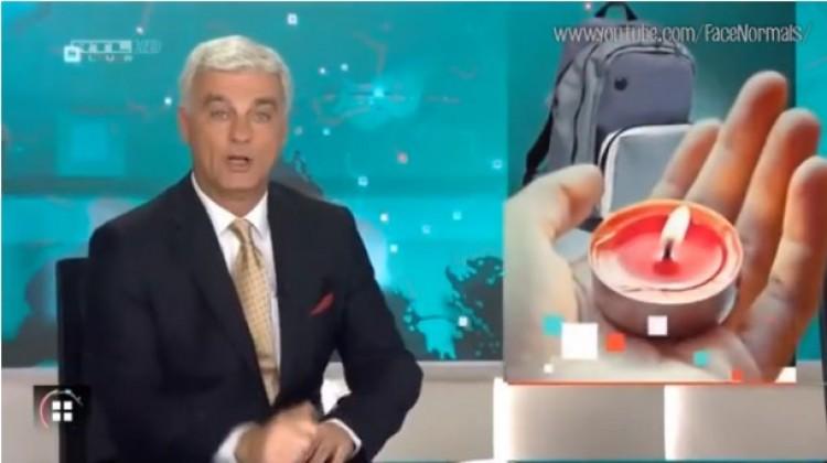 Amikor Szellő István Tankcsapdát tol az RTL Klub híradójában!