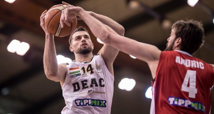 Micsoda este! Elverte a Szolnokot a Debrecen. Kosárlabdában!