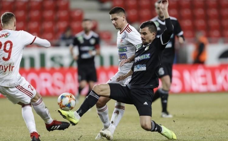 Zsóri góljával nyert Debrecen a Zsóry ellen