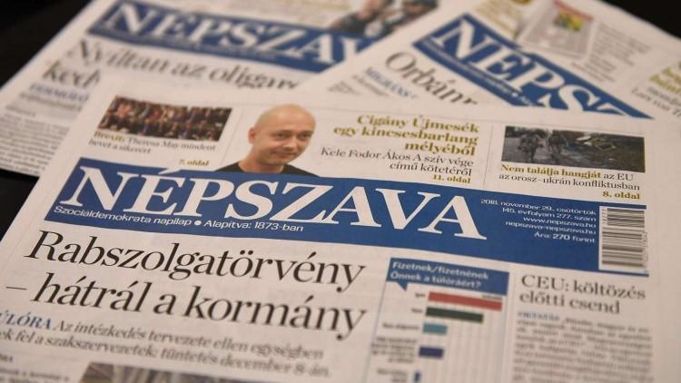 Nem valószínű, hogy vitézkedni akar a Népszava új tulajdonosa