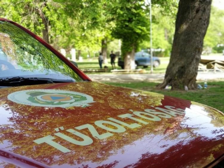 Debrecenben és Nyíradonyban is megsérültek egy-egy tűzeset során