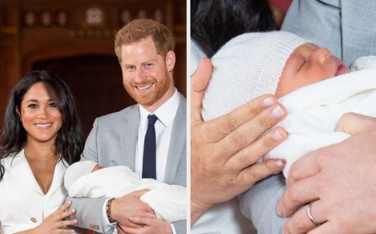 Nevet kapott a hercegi csecsemő