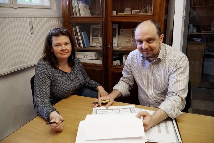 A debreceni építész házaspár új hangulatot varázsolaz Egyetem sugárútra