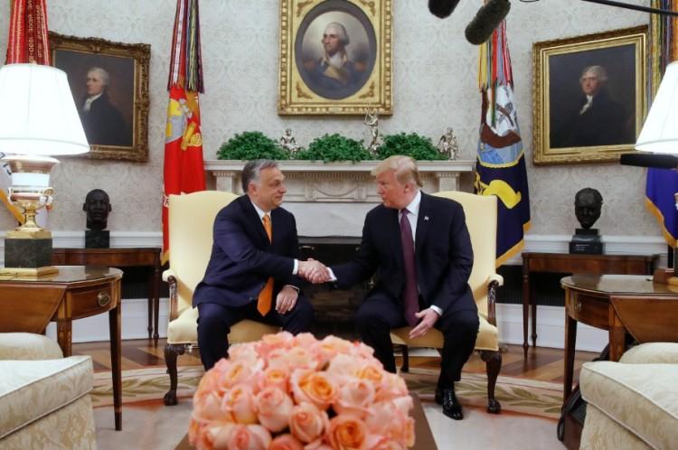 Orbán a Viktor a Donald Trump - VIDEÓ!